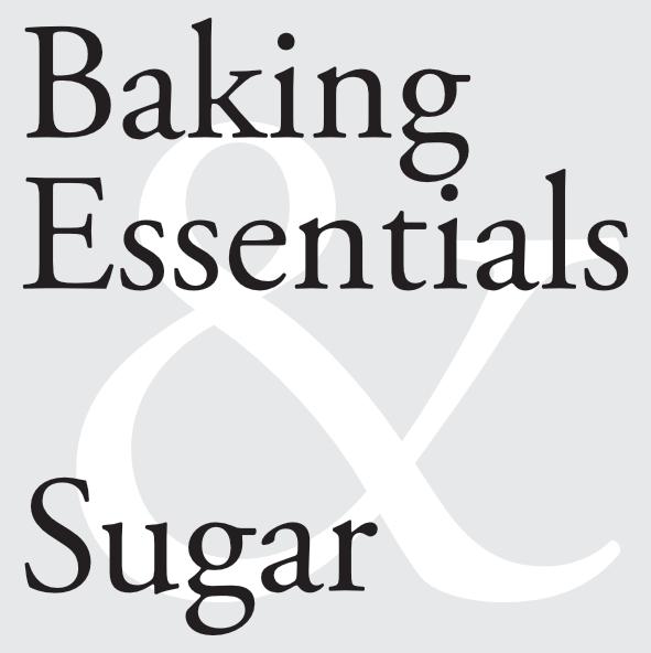 Baking Essentials & Sugar