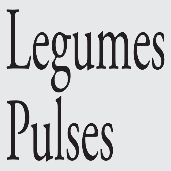 Legumes Pulses
